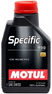 Масло моторное MOTUL Specific 913 D SAE 5W30 1л.