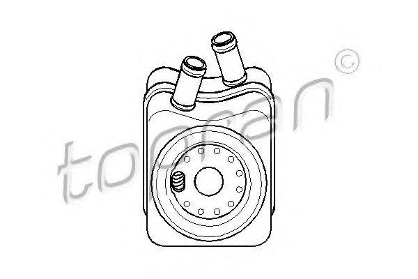 Охладитель масляной системы TOPRAN 108907755