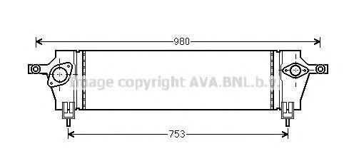 Интеркулер AVA DNA 4333