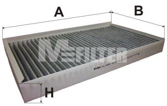 Фильтр салона MERCEDES-BENZ  Vito II (угольный) (пр-во M-Filter)