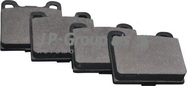 JP GROUP DB Тормозные колодки задн. DB W123/126 VOLVO 240/740/850 JP G