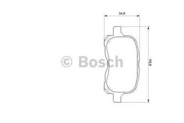 АКЦІЯ!!! Гальмівні колодки дискові TOYOTA Corolla 1.4i,1.6i,1.8i -01 B